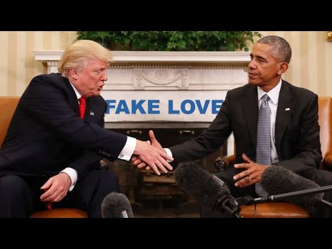 Obama sings Fake Love  Drake ft 21 Savage