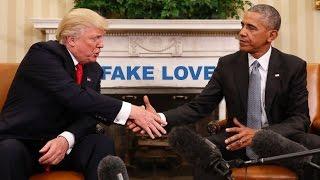 Fake Love - Drake (The Obama Parody) #MORELIFE
