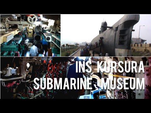 INS Kursura,The First Submarine Museum Ship in ASIA.  Vishakhapatnam-Vizag Local Tour
