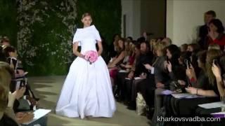 Свадебные платья - весна 2012 _ Carolina Herrera