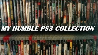 My humble PS3 collection 2014
