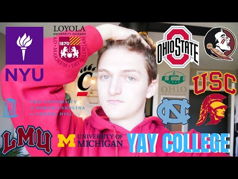 I Applied To 10+ Schools!!! College Decision Reactions 2019 (usc, Nyu, Unc +more)