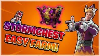 SCHNELL & EINFACH 😍 STORMCHEST's 🎁 FARMEN! 🔨 | TIPPS & TRICKS | FORTNITE: RETTE DIE WELT