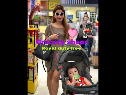 Grocery Haul for (2018) royal Duty Free SBMA