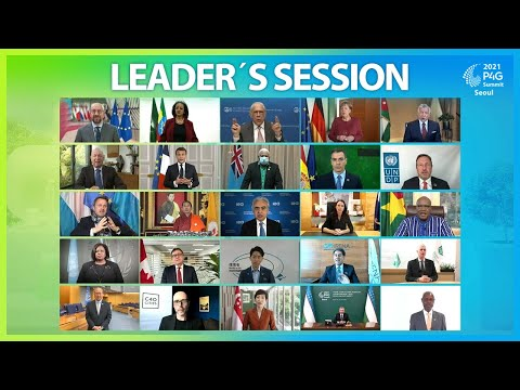 [Arirang Special] #17 LEADER′S SESSION | 2021 P4G SEOUL SUMMIT SPECIAL BREAKOUT SESSIONS