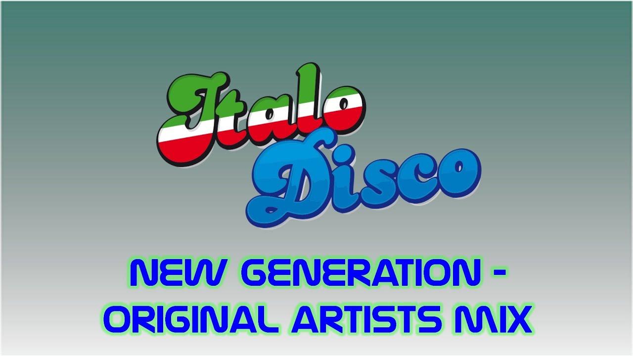 Italo Disco New Generation Mix – Original 80's Artists Mix