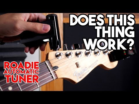 Fearless Gear Review:  Roadie Tuner 2 | SpectreSoundStudios REVIEW