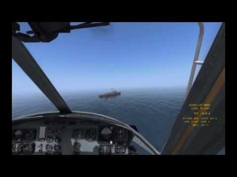 DCS Uh-1 Turkish Coast Guard Landing to Ship