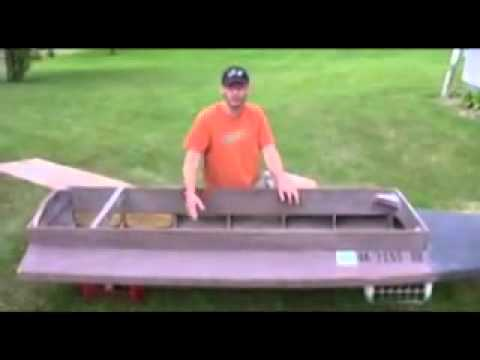 How To Build A Sneak Boat - Kara Hummer Plans - YouTube