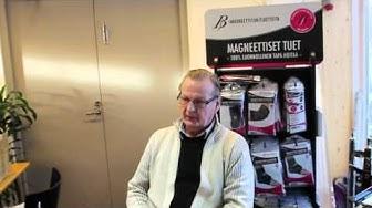 Leikkausarpien hoito    Magneettinen tyynynalusta   BS-Magneettituet.com
