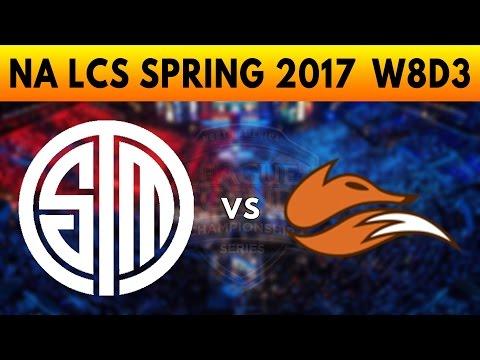 TSM vs FOX Game 1 - NA LCS SPRING 2017 w8D3 - Team SoloMid vs Echo Fox