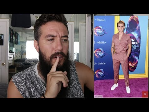 Teen Choice 2018: Dude Fashion  with sound
