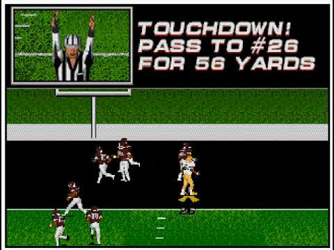 College Football USA '97 (video 174) (Sega Megadrive / Genesis)