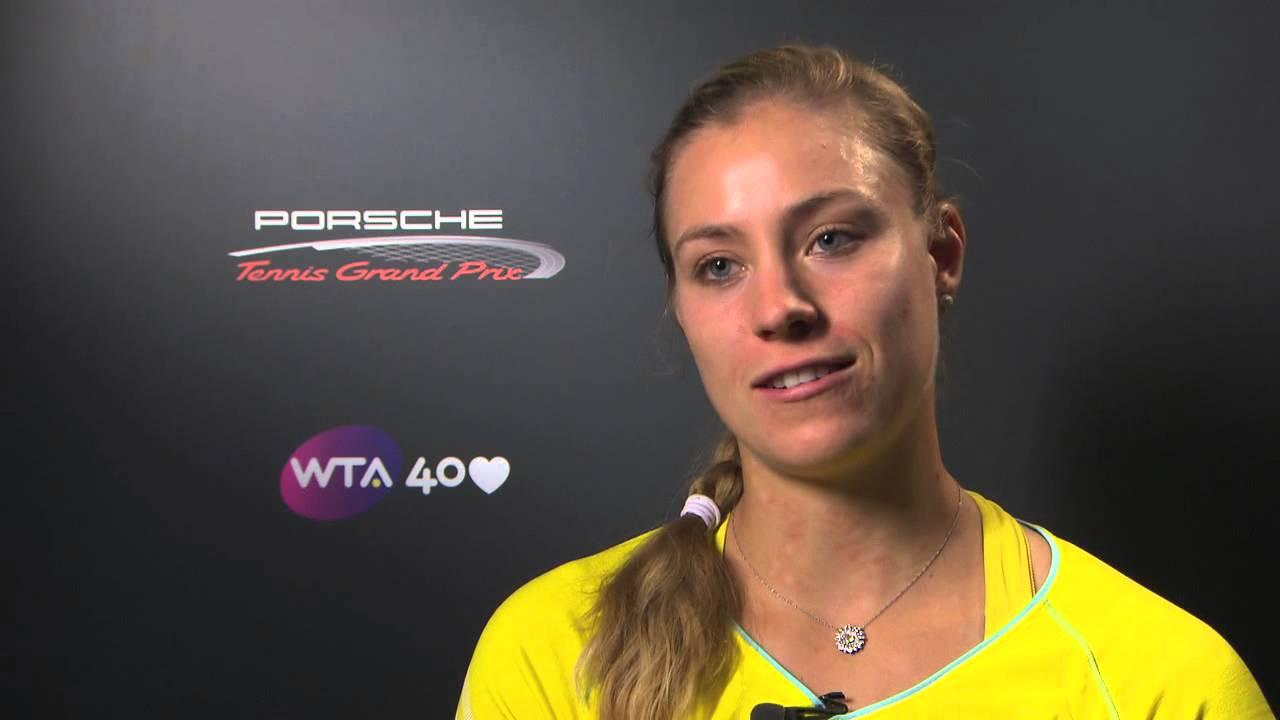 Stuttgart: Kerber Interview | WTA Tennis