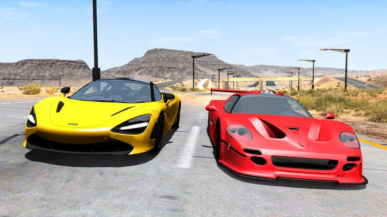 Street Racing Crashes #8 – BeamNG Drive | CrashBoomPunk