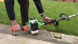 BMC G-Whizz Electric Start Garden Multi Tool - Powerful 33cc Engine