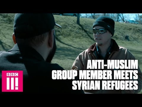 Anti-Muslim Group Member Meets Syrian Refugees And Changes Opinion