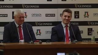 Press Conference: Warren Gatland and Jonathan Davies   Guinness Six Nations