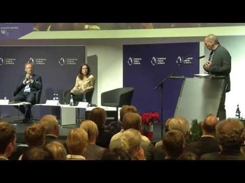 """Market Economy – Reinvent or Reboot?"" with Yanis Varoufakis, Clemens Fuest - Alpbach Forum 2016"