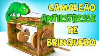 Camaleão Autômato Antiestresse DIY de Brinquedo