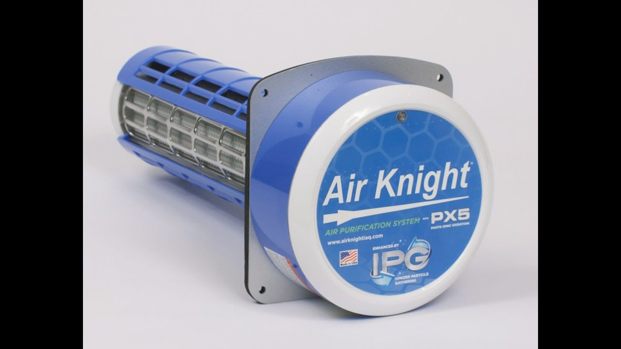 Px5 Air Knight Ionizing Air Purification System Review