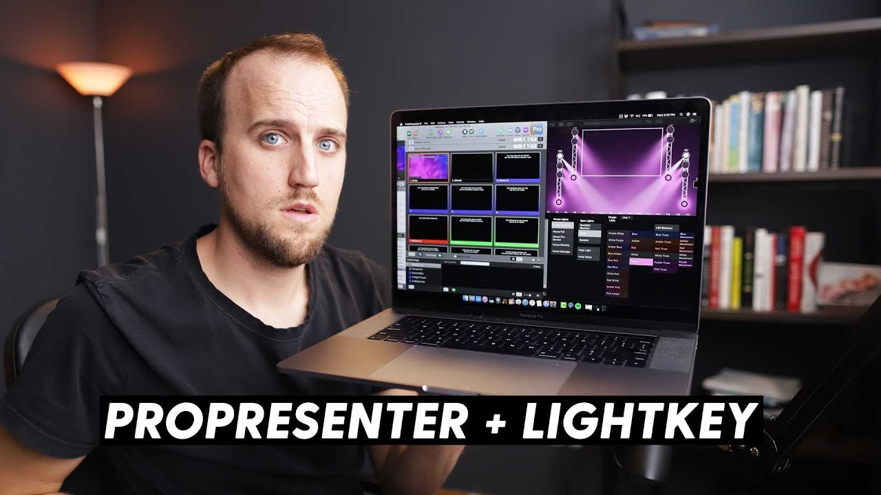 How to control Lightkey with ProPresenter - YouTube