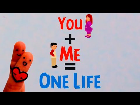 You+Me = One Life   Best LOvE Line   Special Whatsapp Status Video   30 Sec Vedio
