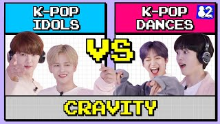 How well can K-pop idols do on a K-pop dance quiz?ㅣBLACKPINK, TWICE, MONSTA XㅣCopy&Paste