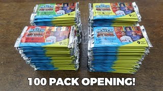 100 PACK OPENING! Match Attax 2017/18