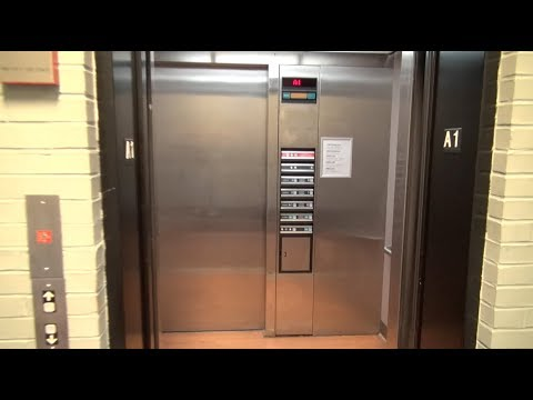 STRANGE setup: Dover Hydraulic Elevator at the Mayfield Graves County Courthouse Mayfield KY