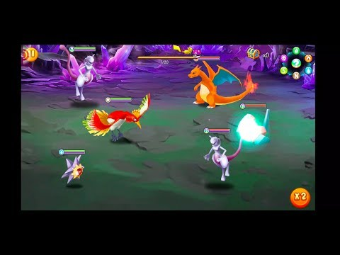 Pocket House 3D (Monster King 3D) - MEWTWO UPGRADE + POWER TEST!