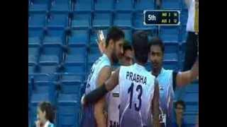 INDIA 3 -AUS 2- 17th asian senior mens volleyball championship