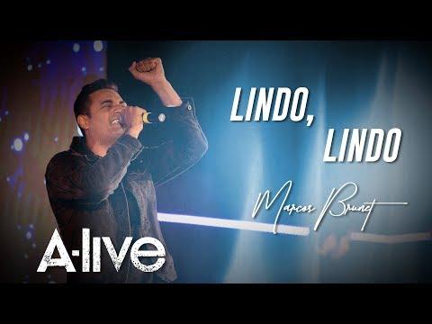 MARCOS BRUNET LINDO, LINDO A LIVE #ADORACION #MARCOSBRUNET #