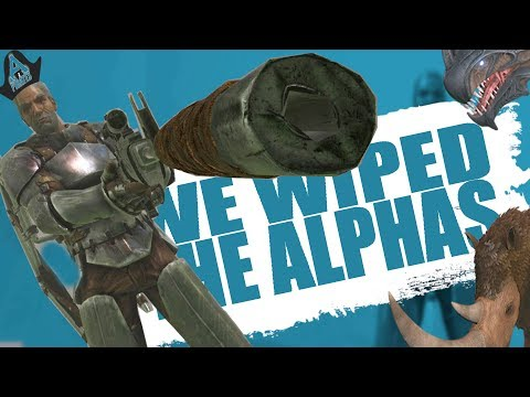 OUR GRIEF RAID WIPED THE ALPHA!? (Official Pvp Pirates) - Ark:survival Evolved  - Ep.