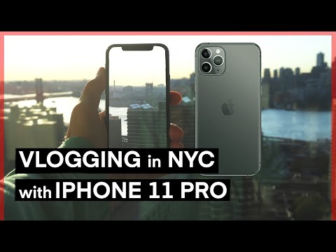 IPhone 11 Pro - Vlog Test In New York City
