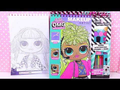 poupées-lol-omg-kit-activités-coloriage-neonlicious