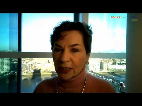 Christiana Figueres at Making Solar Bankable 2018