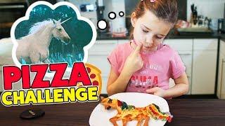 EINHORN PIZZA CHALLENGE 🍕  Herausforderung von OH GOTT DIESE FAMILIE! Lulu & Leon