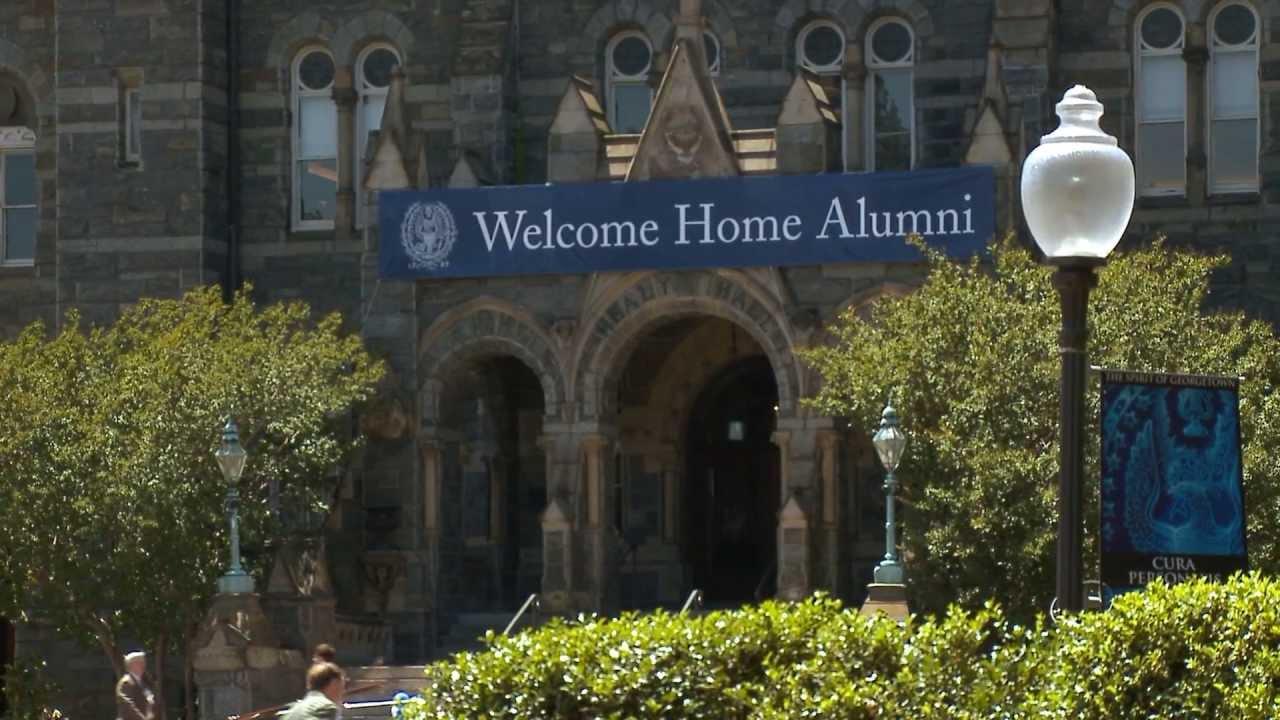 Download Georgetown University Reunion Invitation