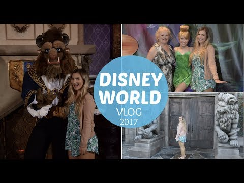 DISNEY WORLD VACATION VLOG SPRING 2017 DAY 7 PART 2 BE OUR GUEST DINNER