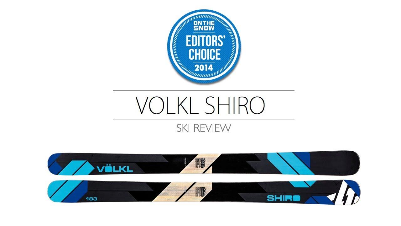 2014 Volkl Shiro Ski Review - Men's Powder Editors' Choice