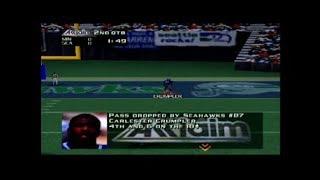 NFL Quarterback Club 98 Vikings vs Seahawks Part 1