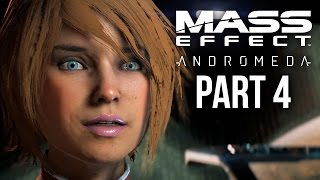 MASS EFFECT ANDROMEDA Walkthrough Part 4 - MONOLITHS (Female) Full Game
