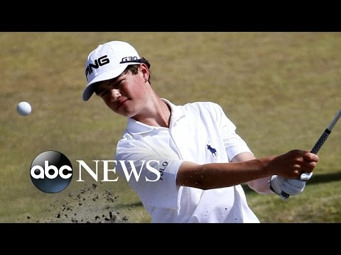 15-Year-Old Takes On the U.S. Open
