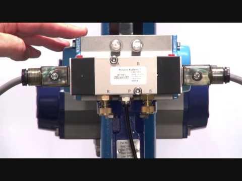 Series END - 5 way 2 position namur solenoid valve (bi stable)