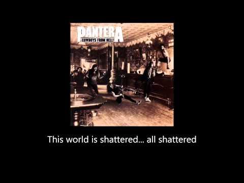 Pantera - Shattered (Lyrics)