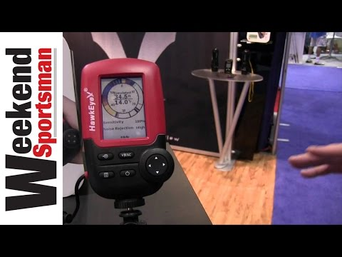 FishTrax 1C Fish Finder From HawkEye Electronics #NorCross_Marine