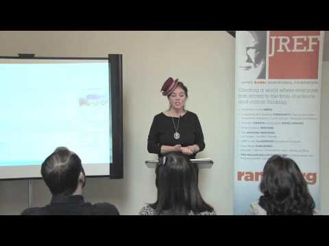 """Susan Gerbic - """"Guerrilla Skepticism on Wikipedia"""" - JREF Workshop"""
