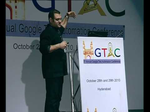 GTAC 2010: Measuring and Monitoring Experience in Interactive Streaming Applications
