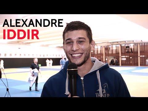 """Alexandre Iddir (-90kg) : """"j'espère vous faire plaisir"""""""